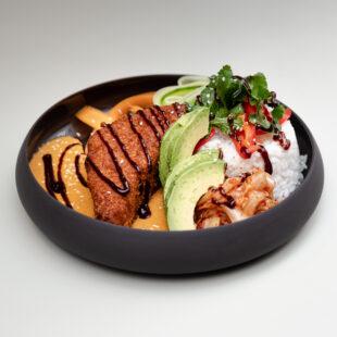 Fried Tofu Katsu Bowl