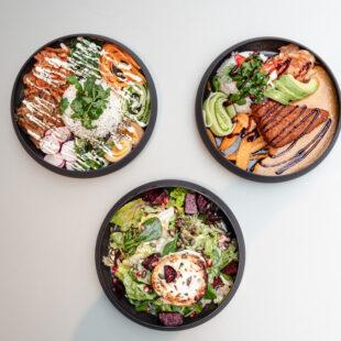 Poke, Katsu, Salad
